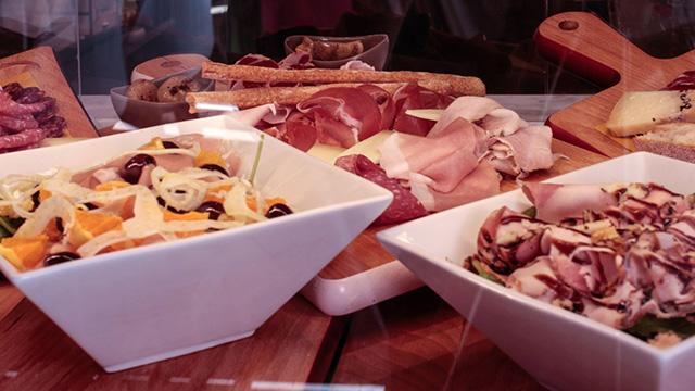 Monaco commande sandwichs, salades desserts en ligne Bottega Renzini